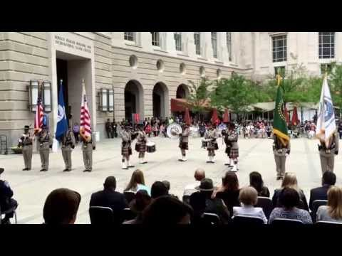 Office of Air & Marine Valor Memorial performance 2015.