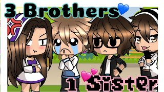 •3 Brothers & 1 Sister• (Gacha Life Mini Movie)