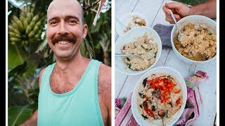 VEGAN DAD OF 3 WHAT I ATE TODAY in Hawaii