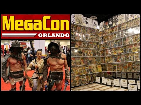 MegaCon 2016 Walkthrough Tour - Comic Book and Entertainment