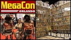 MegaCon 2016 Walkthrough Tour - Comic Book and Entertainment Convention - Orlando, Florida