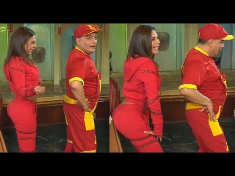 Stephanie Valenzuela le enseñó a bailar twerking a Arturito