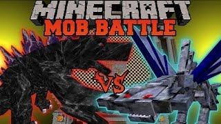 MOBZILLA VS. 200 CEPHADROMES - Minecraft Mob Battles - OreSpawn Mod Battle