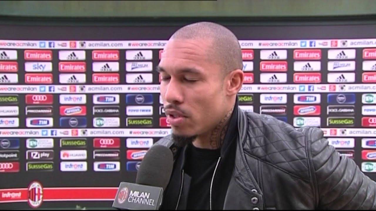 """De Jong: """"Sono contento per il gol""""   AC Milan Official"""
