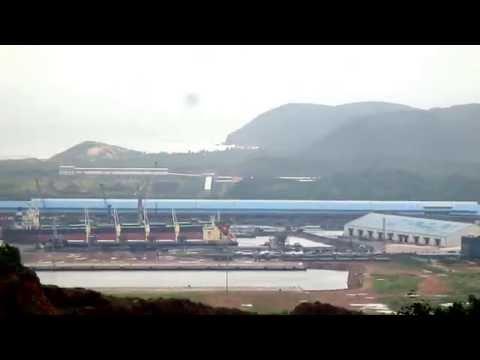 Gangavaram Port hillview
