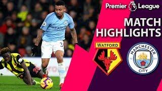 Watford v. Man City I PREMIER LEAGUE MATCH HIGHLIGHTS I 12/4/18 I NBC Sports