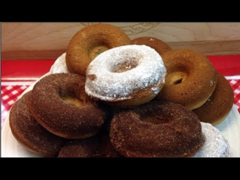 Baked Cake Donuts Recipe ~ Noreen's Kitchen