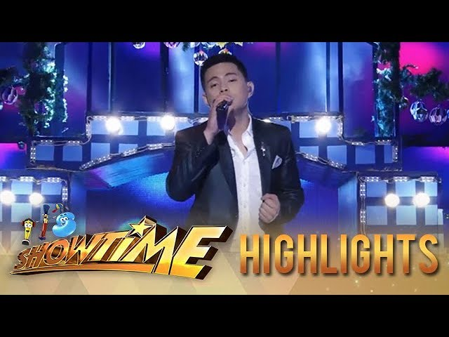 It's Showtime: Anton Antenorcruz offers a wonderful Christmas treat