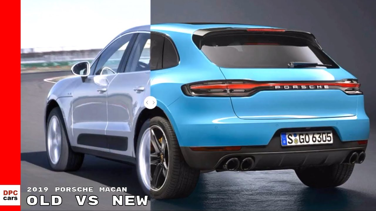2019 Vs Older Generation Porsche Macan Design Comparison Youtube