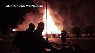Exclusive RAW Riots in Minneapolis Footage