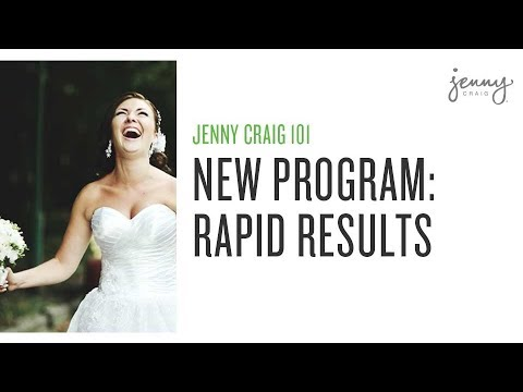 Jenny Craig New Rapid Results The Best Weight Loss Program Youtube
