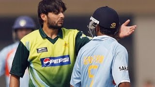 Unforgettable Fights of Cricket | India Vs Pakistan (2014)