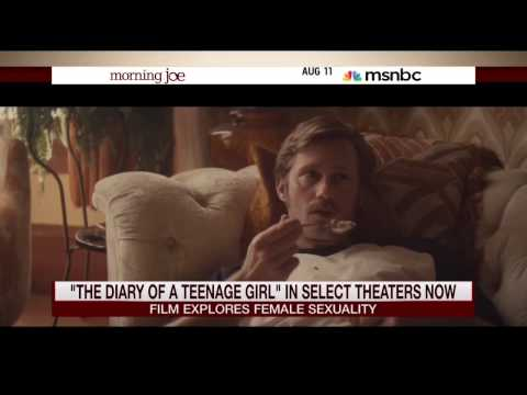 Mike Barnicle with Marielle Heller on her new film 'The Diary of a Teenage Girl' 11 August 2015