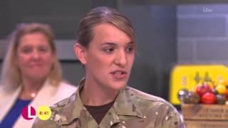 Hannah Winterbourne - High-Ranking Transgender Soldier | Lorraine