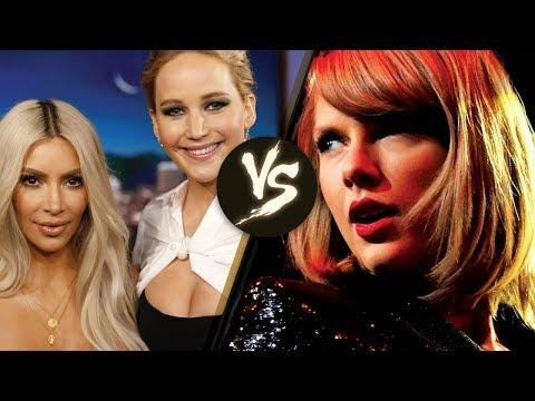Jennifer Lawrence Addresses SHADY Taylor Swift Comment During Kim Kardashian Interview