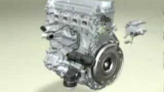 DOHC 16v Engine (Components and how it is working)