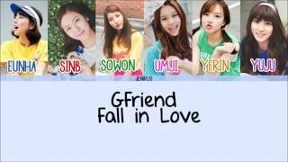 Artist: gfriend song: fall in love album: lol -credits- korean: ilyricsbuzz rom: eng: kbeat color code: me (sorry for any mistakes) -color code- ...