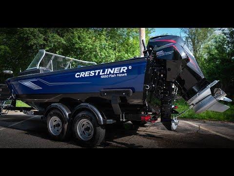 2019 Crestliner Fish Hawk 1950