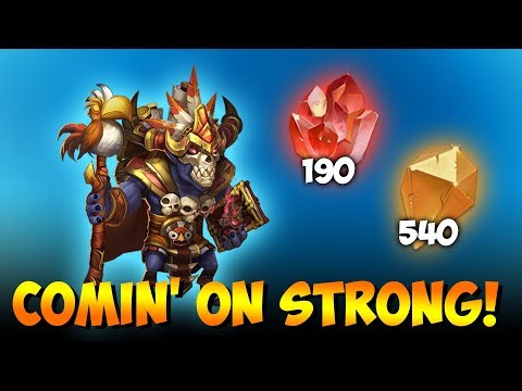 JT's F2P Using Breakthrough Crystals Gaining Might Castle Clash