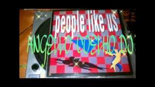 PEOPLE LIKE US - LOVE WILL SURVIVE MEGA RARE LP