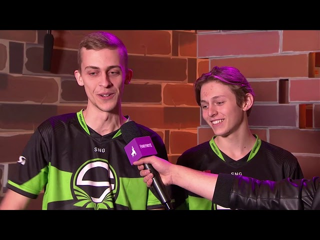 TJ & DKokholm Interview - Fortnite FallSkirmish