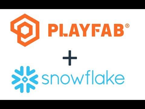 Snowflake demo with PlayFab