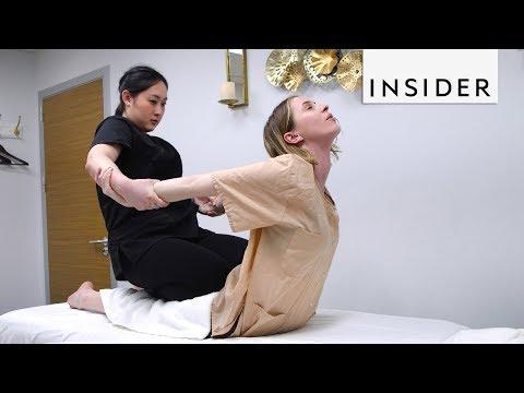 We Tried A Thai Massage