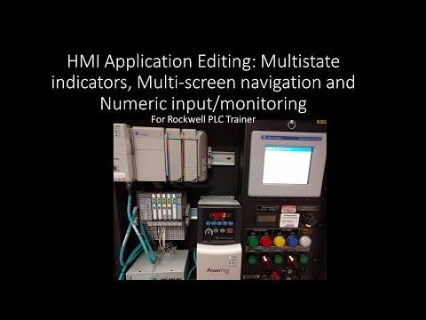 HMI Application Editing: Multi-states and multi-screens