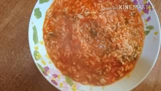 Рис в томатном соусе