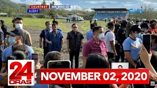24 Oras Express: November 2, 2020 [HD]