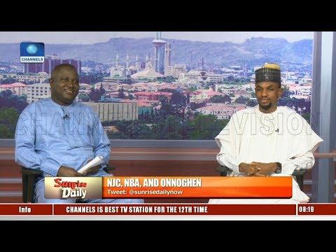 PDP, APC Trade Blames Over CJN Onnoghen's Suspension Pt.3 |Sunrise Daily|