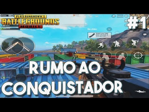 RUMO AO CONQUISTADOR - ENCONTRAMOS UM HACKER NO RECOIL - PUBG MOBILE LIGHTSPEED