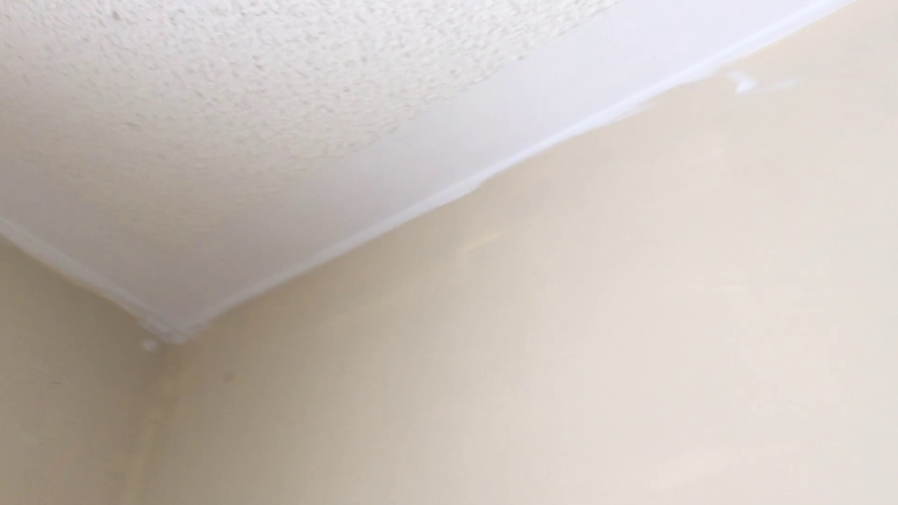 Ceiling problem after touch up by good quality ceiling paint