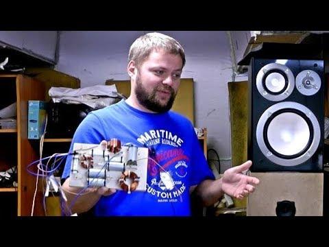 Новый фильтр для полочной акустики Yamaha NS 6490 / слушаем, смотрим, сравниваем