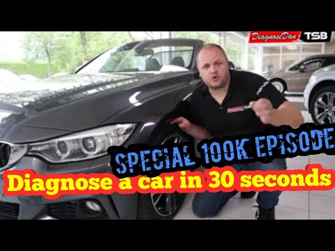 How to diagnose a car in 30 seconds