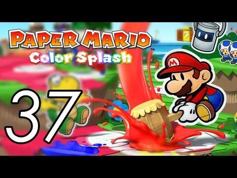 Let's Play Paper Mario: Color Splash [37] Cobalt Base 2