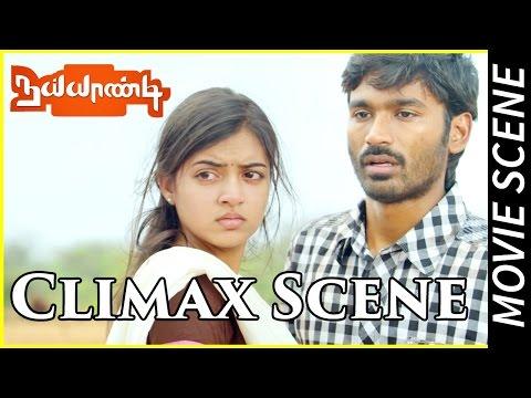 Naiyaandi - Climax Scene   Dhanush   Nazriya   Ghibran