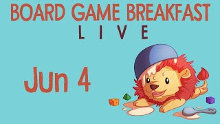 June is here - and with it, more LIVE Breakfast! Sponsored by Everything Board Games: http://www.everythingboardgames.com/ ...