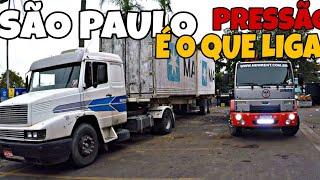 EU E O PAULO FOMOS DE MULA PRA SÃO PAULO, BOTANDO PRESSÃO NA MULA VEIA!