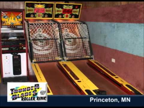 Princeton Minnesota's Thunderblades Roller Rink On Our Story's The Road Trippers
