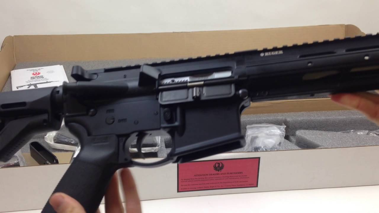 Ruger SR556VT Varmint 556 NATO Rifle | What's in the box?