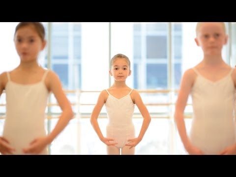 SF Ballet School's Pre Ballet Program