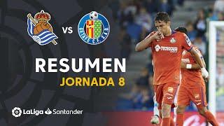 Resumen de Real Sociedad vs Getafe CF (1-2)