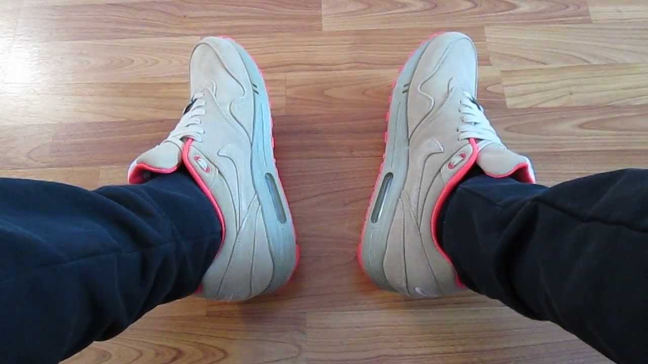 best cheap 393f4 07884 Nike Air Max 1 Milano ON FEET Review + Air Max 1 OG Blue Hyperfuse ...