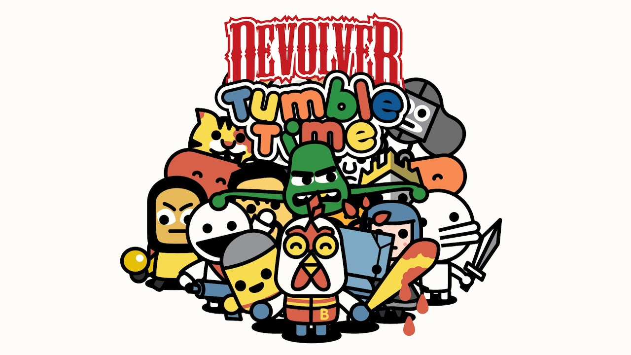Devolver Tumble Time - Get Out Your Phones Later This Year