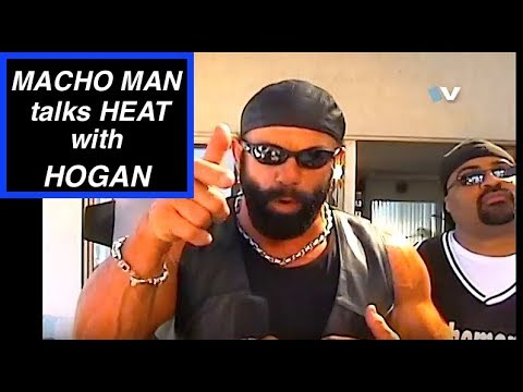 Macho Man Randy Savage on Hulk Hogan BEEF and why they didnt get along. RARE. JMT on the mic.