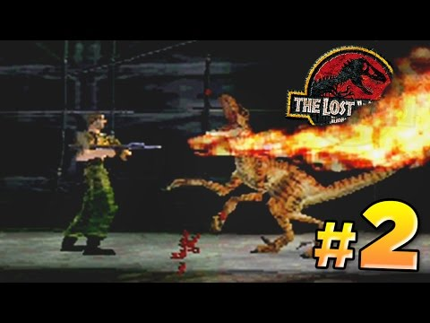 Hunting Dinosaurs! - The Lost World PS1 | FaceCam Sunday