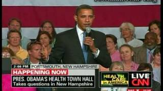 Obama: Doctors Choose Amputation Because Surgeons Get Paid More Than Physicians