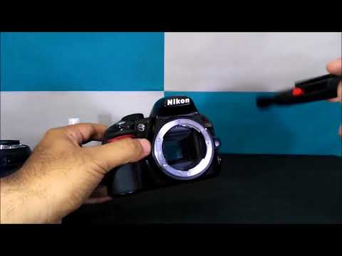 In Hindi Sensor and Mirror Cleaning of DSLR Camera