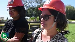 TV Aguas - Líderes comunitários visitam a ETA Juturnaíba